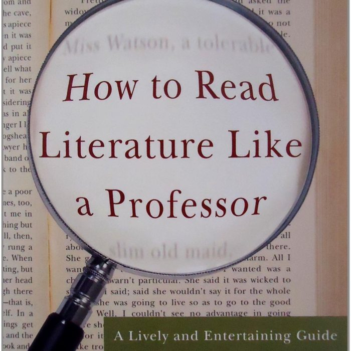 chapter 18 how to read literature like a professor Using the table below, write a chapter summary in the center column for the corresponding chapter of thomas foster's how to read literature like a professor (htrllap).