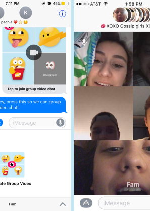 Fam: Group video for iMessage